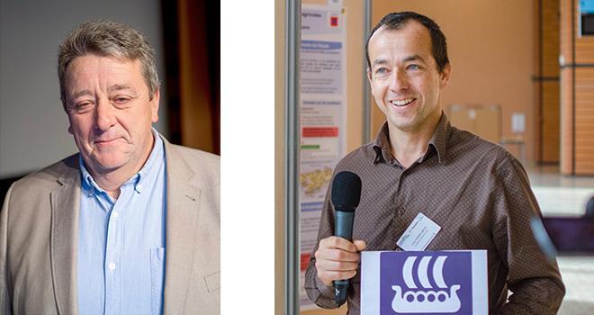 François Servain, président du Gemas, et Lionel Jordan-Meille, président du Comifer. Photos: L.Theeten/Pixel6TM / Comifer